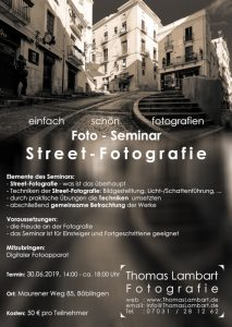 Fotoworkshop Street Fotogrfie